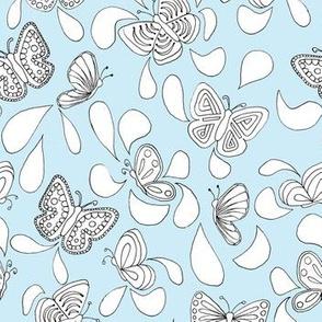 Butterfly Talk_Blue