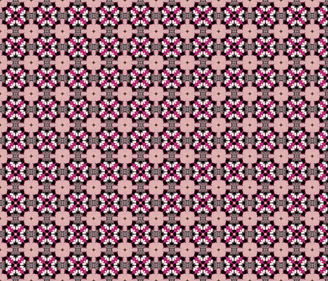 Pink Petals fabric by marbleswords on Spoonflower - custom fabric
