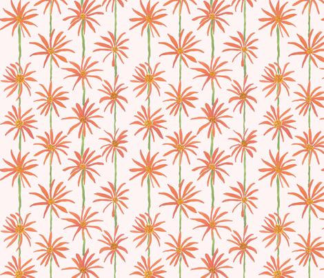 Farmers_Market_Coneflowers_c8-11-15-ed fabric by sleepingdogquilts on Spoonflower - custom fabric