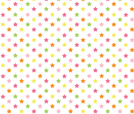 school idol - stars fabric by melvinopolis on Spoonflower - custom fabric