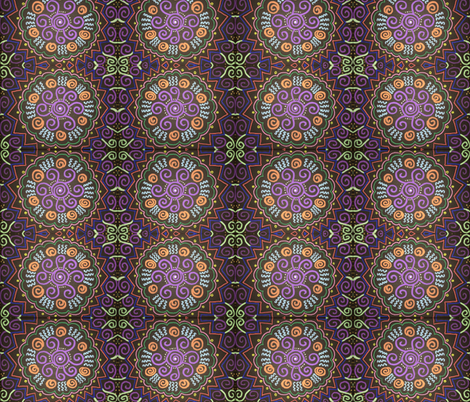 Colourful Flowers fabric by kerrieabello on Spoonflower - custom fabric