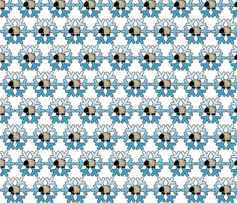 Spunky Eclectic - Winter Wonderland fabric by spunky_eclectic on Spoonflower - custom fabric