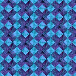 Bold purple X
