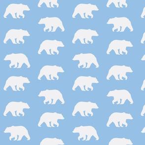 Bear Hike //Sky Blue
