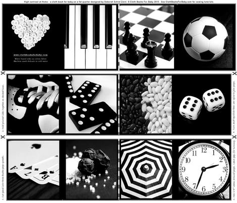 CLOTHBOOK-BW-HOME fabric by debsch on Spoonflower - custom fabric