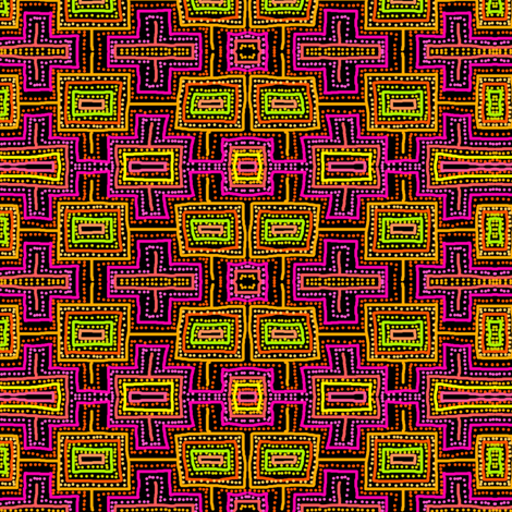 Maze Mania fabric by chinaberries_studio on Spoonflower - custom fabric