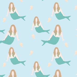 Plus Size Mermaid