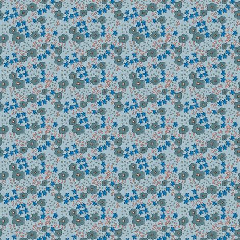 DitsyONE fabric by sarahjanke on Spoonflower - custom fabric