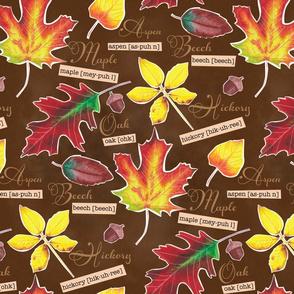 Autumn Leaves Botanical