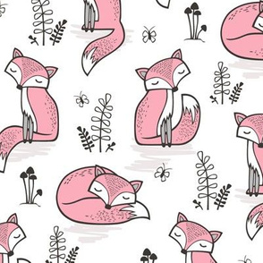 Dreamy Fox in Pink