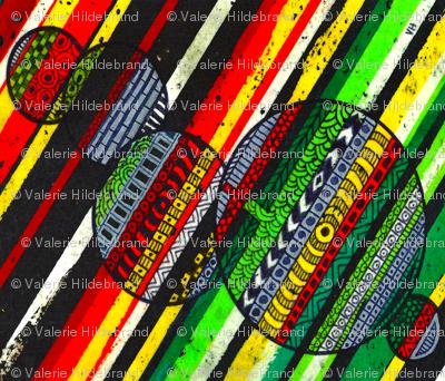 Lines of Color V Vertical