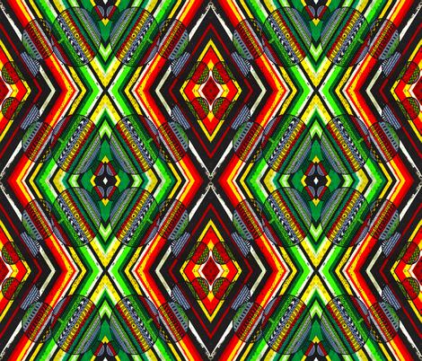 Lines of Color V Vertical fabric by valeriehildebrand on Spoonflower - custom fabric