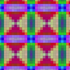 Hourglass Mosaic