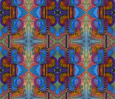 Spiral in Time fabric by valeriehildebrand on Spoonflower - custom fabric