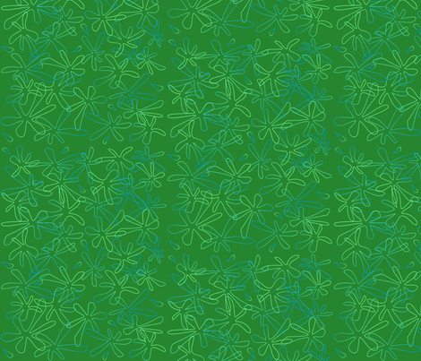 Green with Envy fabric by lowa84 on Spoonflower - custom fabric