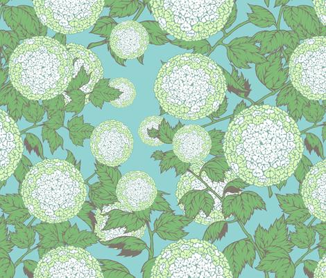 Viburnum_003 fabric by fabudan on Spoonflower - custom fabric