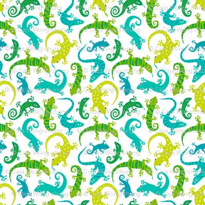 Cute Lizards