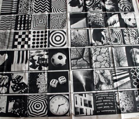 ALL FOUR BW HIGH CONTRAST BOOKS