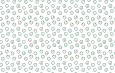 lion mint - elvelyckan fabric by elvelyckan on Spoonflower - custom fabric