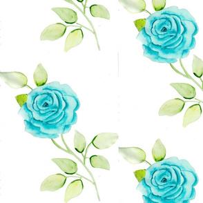 Turquoise Flower Vintage