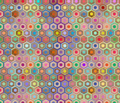 Colored Pencils fabric by rubydoor on Spoonflower - custom fabric