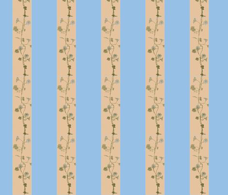 Blue_Vine2-ch fabric by katawampus on Spoonflower - custom fabric