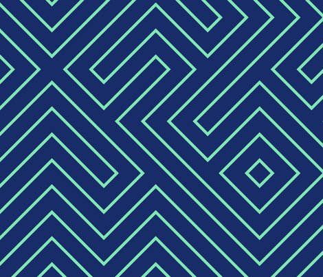 Tribal_maze_aqua_on_navy_shop_preview