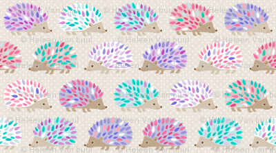 Hedgehog polkadot - small