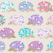Hedgehog polkadot - small