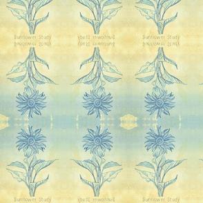 Sunflower Blue Tie Dye