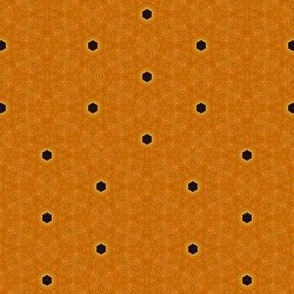 Black Dots on Orange