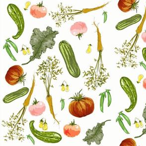 BotanicalSketchbookFabric