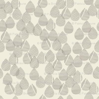 Drops - Stone & cream