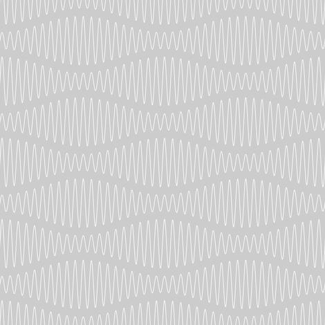 sonic beats : silver white noise fabric by sef on Spoonflower - custom fabric