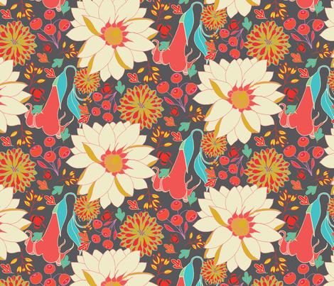 HattiesGarden fabric by gloryb on Spoonflower - custom fabric