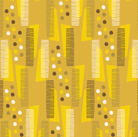 Geometric Party fabric by zesti on Spoonflower - custom fabric