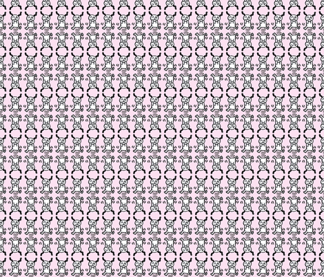 Spring Fling Pink fabric by anniepoon on Spoonflower - custom fabric