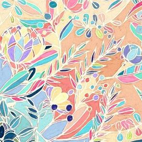 Paradise Doodle Pattern