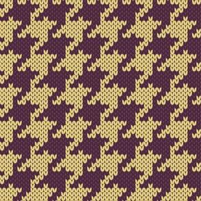 Retro Modern Houndstooth Knit 1