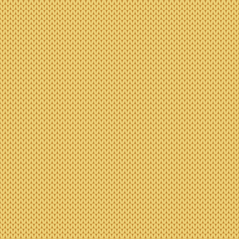 Retro Modern Knit solid in Yellow fabric by kcretcher on Spoonflower - custom fabric