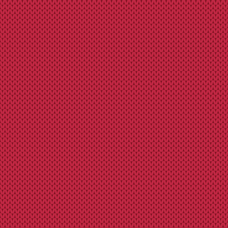 Retro Modern Knit Solid Pink fabric by kcretcher on Spoonflower - custom fabric