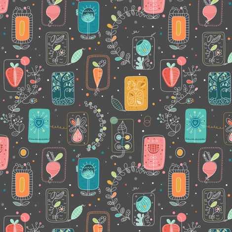 botablomma fabric by la_fabriken on Spoonflower - custom fabric