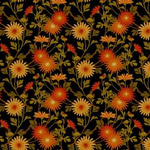 Springing Floral ~Black