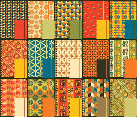 Jolly Journals Final fabric by paula's_designs on Spoonflower - custom fabric