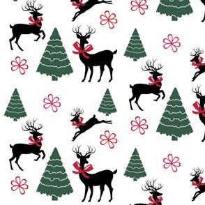Dancing Deer Christmas
