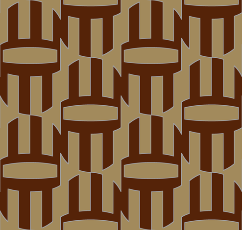 Turbine (Brown) fabric by david_kent_collections on Spoonflower - custom fabric