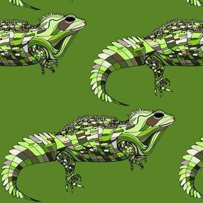 Tuatara Greenery