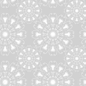 Gray Mandalas