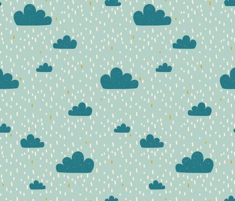Sky Safari Clouds fabric by zesti on Spoonflower - custom fabric