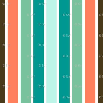04523271 : stripe 5 in 8 : surf bar deckchair